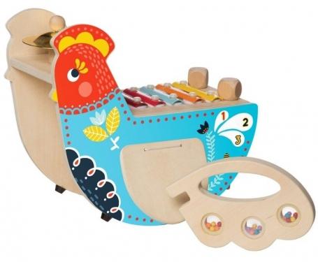 Drewniane centrum muzyczne Kura Manhattan Toy