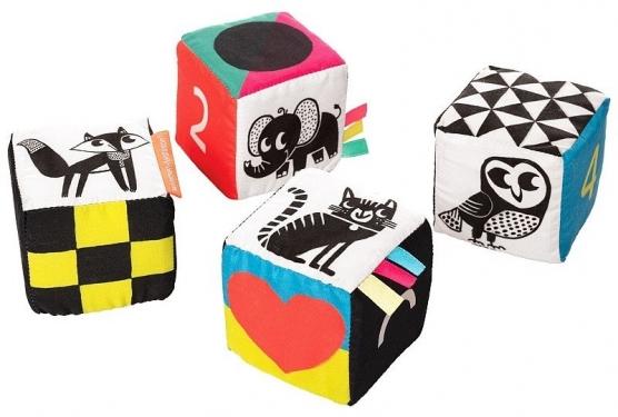 Dziecięce klocki edukacyjne Malej Manhattan Toy