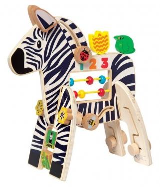 Kostka motoryczna Zebra Manhattan Toy