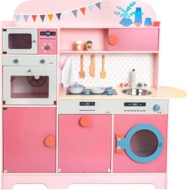 Kuchnia dla dzieci z akcesoriami Różowy smakosz Small Foot