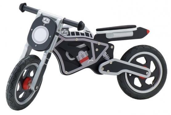 Drewniany rowerek biegowy Motocykl Sevi