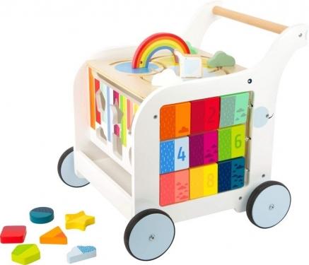 Drewniany chodzik dla dzieci Słonik Small Foot Design