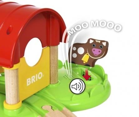 BRIO Moja Pierwsza Farma z Dźwiękiem