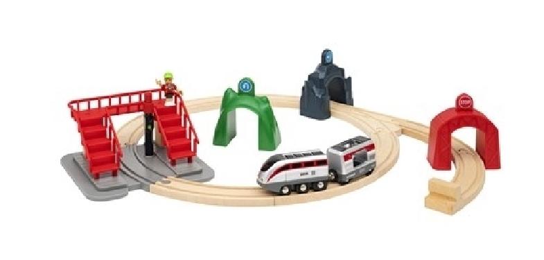 BRIO Smart Tech Zestaw Pociąg z Tunelami