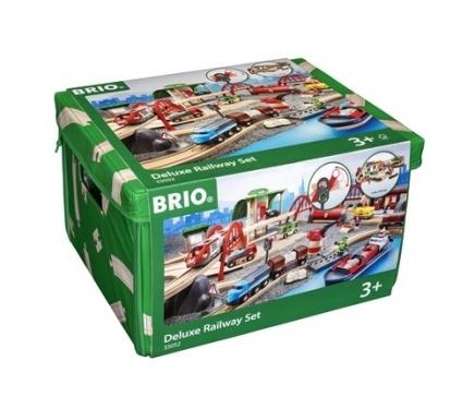 BRIO World Kolejka Mega zestaw Deluxe 87 el.