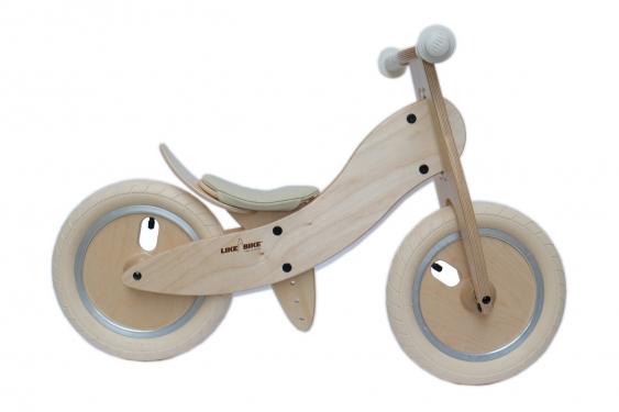KOKUA Rowerek Biegowy LIKEaBIKE Mini kolor kremowo - biały