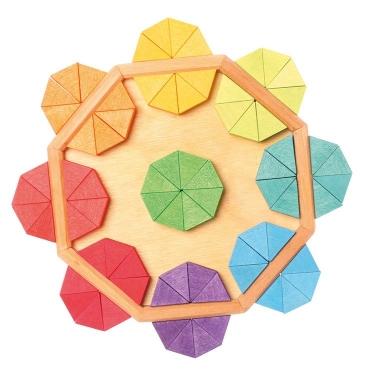 Puzzle wpisane w ośmiokąt 3+, Grimm's