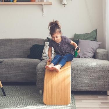 Deska do balansowania Starter Transparent z filcem, Mouse, Wobbel