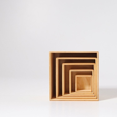Drewniane Pudełka, kolekcja naturalna 0+, Grimm's
