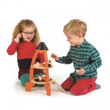Drewniana rakieta kosmiczna, Tender Leaf Toys