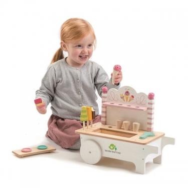 Drewniany sklepik z lodami na magnesy, Tender Leaf Toys