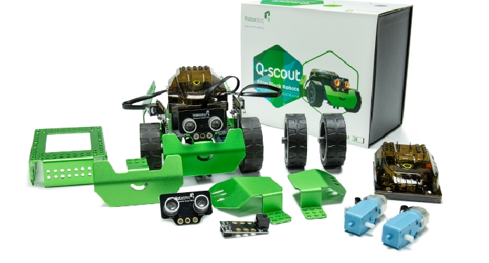 Robobloq Q-Scout – robot edukacyjny do nauki programowania