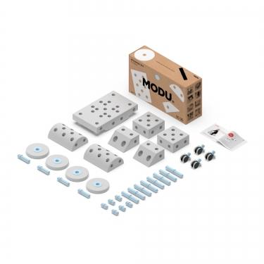 MODU Dreamer kit 12in1 – Kreatywne klocki rozwijające motorykę dużą, niebieski