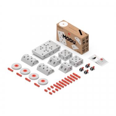 MODU Dreamer kit 12in1 – Kreatywne klocki rozwijające motorykę dużą, czerwony